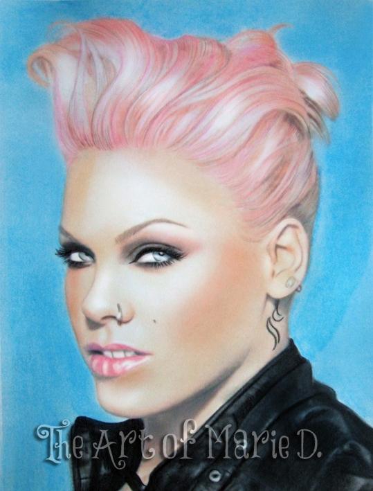 Pink by LouBoscorelli